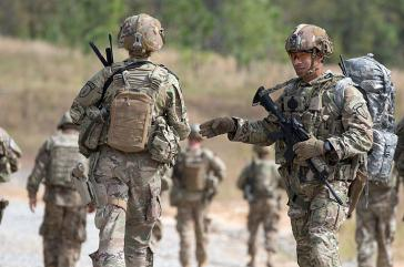 Die U.S. Security Force Assistance Brigade, hier bei einer Übung in Fort Bragg (Oktober 2018), soll in Zukunft nun doch wieder in Kolumbien aktiv sein können