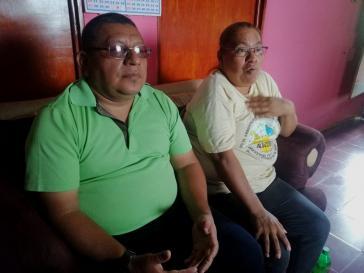 Rosa Isabas Galeano und Juan José Hernández Guerra