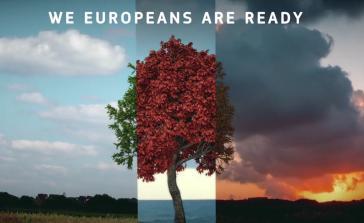 """""""Wir Europäer sind bereit"""" - heißt es im Werbeclip der EU-Kommission zum """"European Green Deal"""" (Screenshot)"""