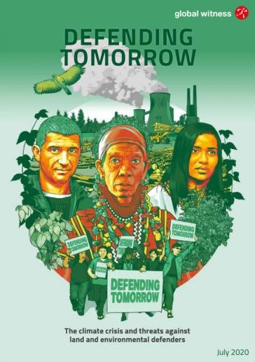 Cover des Global-Witness Jahresberichts 2019
