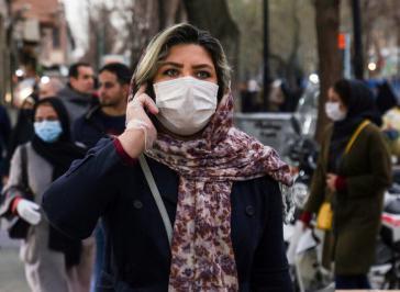 Menschen im Iran sind auch bei der Coronavirus-Epidemie von den US-Sanktionen betroffen