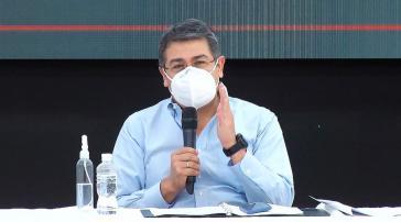 Der honduranische Präsident, Juan Orlando Hernández, versucht, die wirtschaftlichen Folgen der Corona-Pandemie in den Griff zu bekommen
