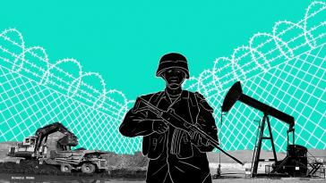 Zwischen Bergbau- und Ölkonzernen und Kolumbiens Sicherheitsapparat bestehen zahlreiche Abkommen