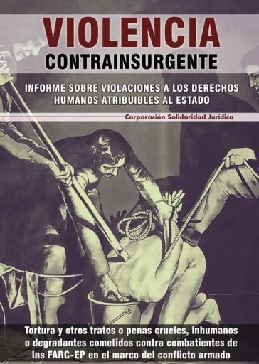 Titelblatt des 300-seitigen Berichts der Corporación Solidaridad Jurídica