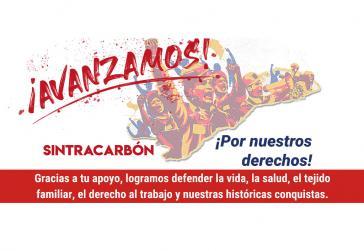 Sintracarbón konnte verhindern, dass historische Errungenschaften der Gewerkschaft abgeschafft werden