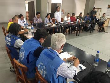 Auf der Suche nach einer Lösung: Treffen von Vertretern der Farc, Regierung, UNO und lokaler Gemeinschaft am 6. Februar