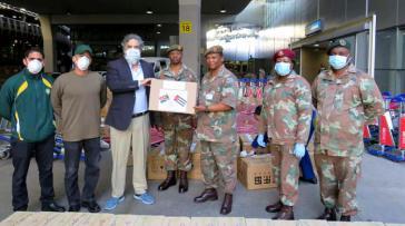 Südafrika unterstützt Kuba mit Materialien für die Gesundheitseinrichtungen