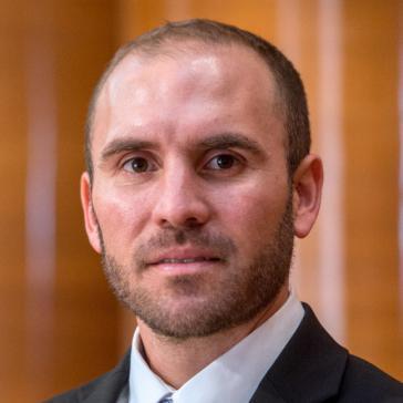 Martín Guzmán, argentinischer Wirtschaftsminister und Ökonom, spezialisiert auf Finanzkrisen