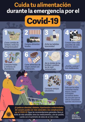 Die Allianz für Ernährungsgesundheit ruft die Bevölkerung auf, angesichts der Corona-Pandemie auf gute Ernährung zu achten