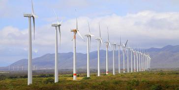 Die EDF Group will in Unión Hidalgo, Mexiko, einen Windpark mit 115 Windrädern bauen