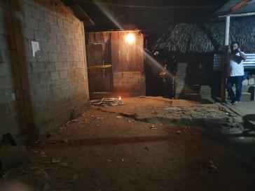 Das Haus, in dem Dominga Ramos ermordet aufgefunden wurde