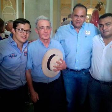Álvaro Uribe und Hernández