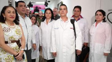 Auf Bitte der Regierung traf am 18. März eine Gruppe kubanischer Ärzte in Nicaragua ein, um Covid-19-Patienten zu behandeln