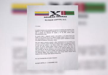 """Schwarze Adler: """"Für ein Kolumbien ohne Castro-Chavismus"""""""