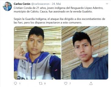 Der 21-jährige Cristian Conda war in seiner Gemeinde politisch aktiv