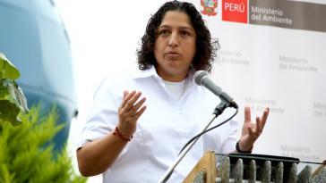 Umweltministerin Fabiola Muñoz betont die Wichtigkeit des Abkommens von Escazú
