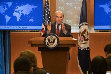 Droht Russland im Fall weiterer Unterstützung der Regierung Maduro: Der US-Sonderbeauftragte für Venezuela, Abrams