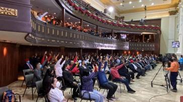 Venezuelas verfassunggebende Versammlung nahm das Anti-Blockade-Gesetz an