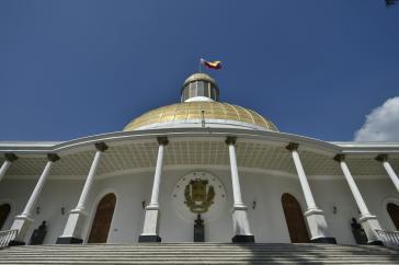 Sitz der Nationalversammlung in Caracas. Am 6. Dezember sollen die Abgeordneten gewählt werden