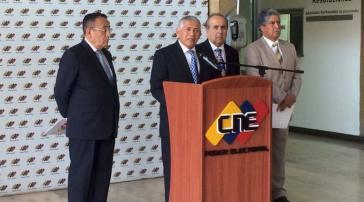 Der Vorsitzende des Ceela, Nicanor Moscoso