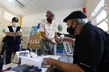 20,7 Millionen Wählerinnen und Wähler waren zur Abstimmung aufgerufen