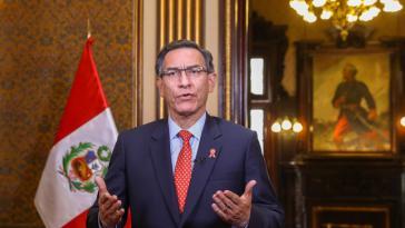In einer Fernsehansprache kündigte Präsident Vizcarra seine geplanten Reformen an