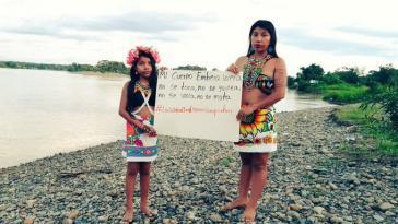 """""""Mein Embera-Körper wird nicht angefasst, wird nicht geschlagen, wird nicht vergewaltigt, wird nicht getötet"""""""