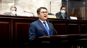 Präsident Juan Orlando Hernández
