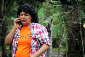Die honduranische Menschenrechts- und Umweltaktivistin Berta Cáceres wurde am 3. März 2016 ermordet