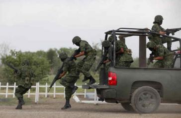 Mexikanische Soldaten sollen für das Massaker von Tlatlaya verantwortlich sein, bei dem 22 Zivilisten umgebracht wurden