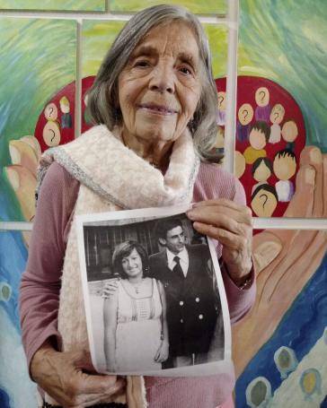 Sonia Torres (92) sucht seit 44 Jahren ihre verschwundene Tochter Silvina und deren Mann Daniel Orozco. Silvina war bei der Festnahme im 6. Monat schwanger