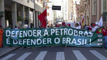 Seit Jahren kämpfen die Gewerkschaften in Brasilien gegen die weitere Privatisierung des staatlichen Erdölkonzerns Petrobras