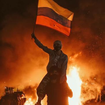 Trotz der massiven Polizeigewalt strömen die Protestierenden weiterhin auf die Straßen
