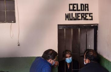 Jeanine Añez wurde nach ihrer Festnahme in Beni nach La Paz überstellt