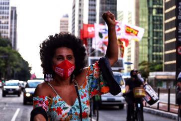 Fahrrad- und Autokorso gegen Bolsonaro am Freitag in São Paulo