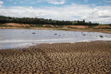 Staureservoir Cantareira im Großraum São Paulo. Bereits 2015 war die Wasserversorgung durch eine extreme Dürre gefährdet