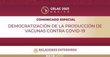 Celac fordert die Demokratisierung der Produktion und eine gerechte Verteilung der Corona-Vakzine