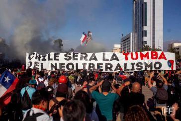 """""""Chile wird das Grab des Neoliberalismus sein"""" (Santiago, November 2019)"""