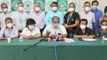 Der Ärzteberufsverband Colegio Médico de Bolivia fordert die Rücknahme des Gesundheitsnotstandsgesetzes