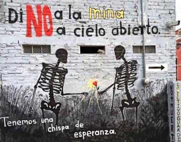 Di no a la mina a cielo abierto - tenemos una chizpa de esperanza