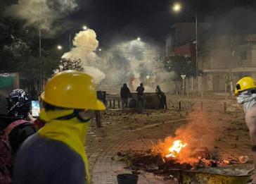 Diese Szenen am Montag erinnerten an die Blockaden der letzten Monate