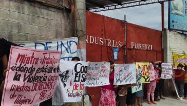 Die Besetzerinnen der Maquila Florenzi kämpfen jetzt mit einem Hungerstreik für ihre Rechte