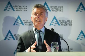 Die amtierende Regierung von Argentinien hat einen Kläger gegen Ex-Präsident Macri berufen