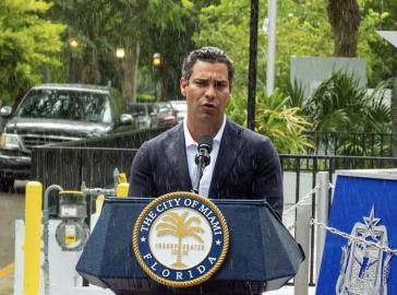 Der Bürgermeister von Miami, Francis Suárez