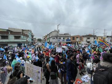 Zahlreiche Demonstrant:innen beteiligten sich an den landesweiten Protesten