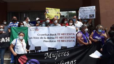 """Der Widerstand gegen das Projekt der """"Freien Privatstadt"""" ist ungebrochen"""