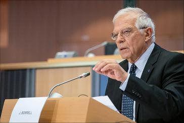 "Der EU-Außenbeauftragte Josep Borrell mahnt ""strukturelle Maßnahmen"" gegen die Gewalt in Kolumbien an"