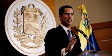 """Venezuelas selbsternannter """"Interimspräsident"""" Juan Guaidó"""