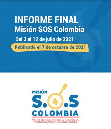 SOS Colombia hat den Abschlussbericht vorgelegt