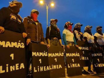 """""""Mamás de la Primera Línea"""" in Bogotá"""